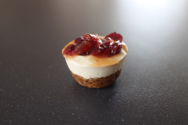 Cranberry Cheesecake Bites 2